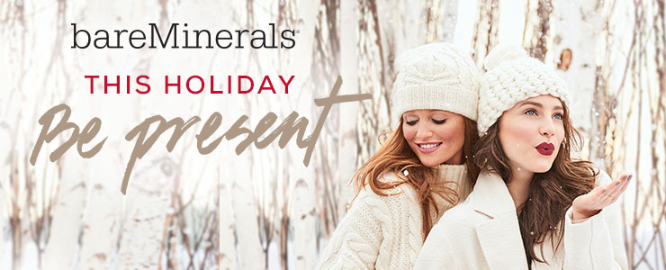 bareMinerals Christmas, be present