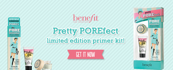 Limited Edition Benefit Pretty POREfect set