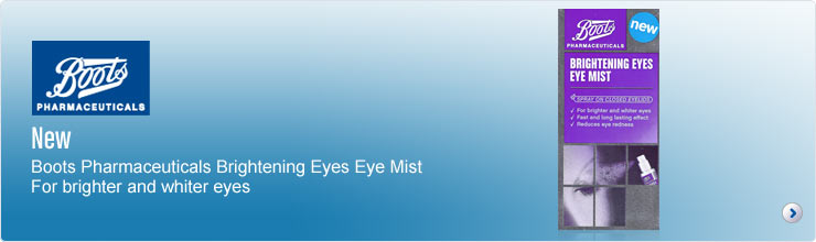 Boots Pharmaceuticals Brightening Eyes Eye Mist
