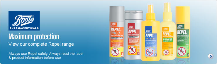 Maximum protection view our complete Repel range