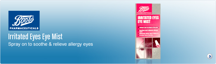 Boots Pharmaceuticals Irritated Eyes Eye Mist