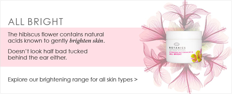 Botanics All Bright Facial Skin Care