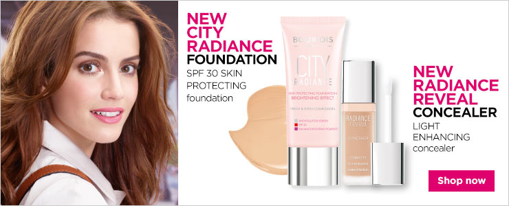 Bourjois new City Radiance foundation and Radiance Reveal concealer