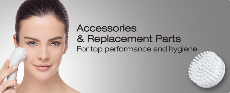 Braun Women's Hair Removal Accessories and Replacement Parts