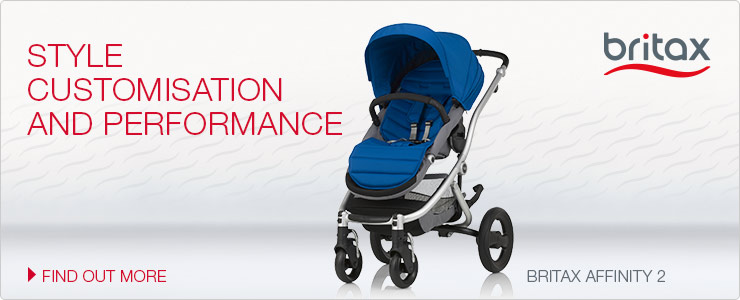 Britax Affinity 2 - Style Customisation and Performance