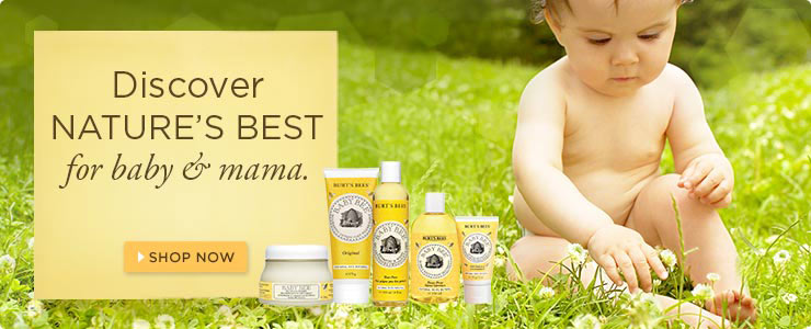 Burt's Bees - Discover natures best for baby and mama