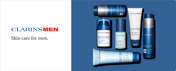 ClarinsMen - No nonsence skin care for men
