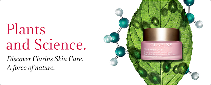 Discover Clarins Plants and Science