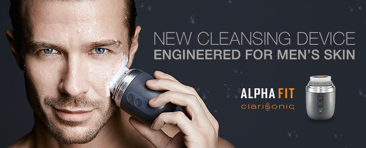 New Clarisonic Alpha Fit Cleansing Brush
