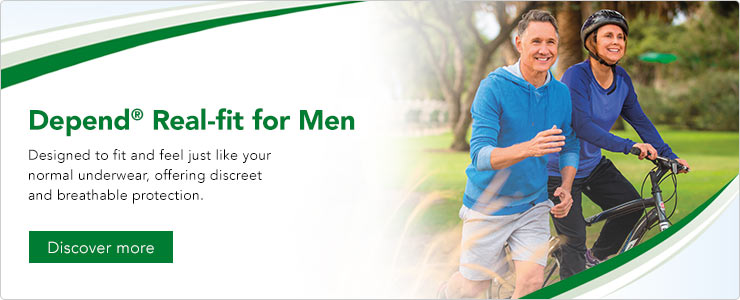 Depend Real-fit for Men