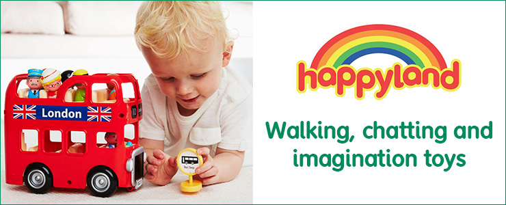 Happyland Walking, chatting and imagaination toys