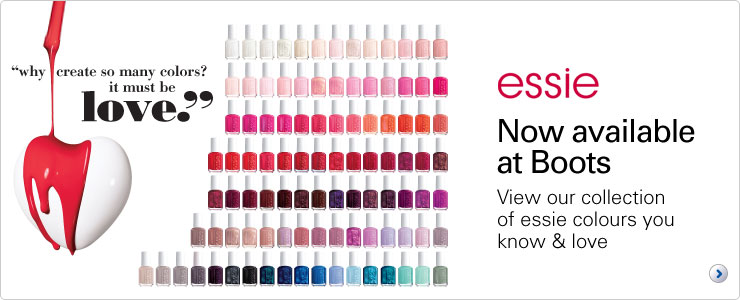 Essie Nail Care Now available at Boots
