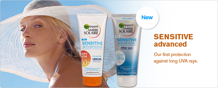 Garnier Ambre Solaire Sensitive Advanced