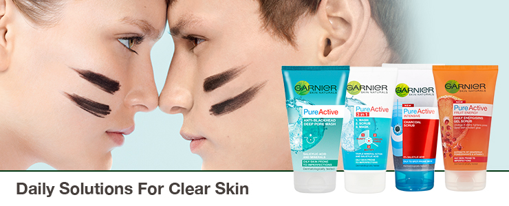 Garnier Shop All Daily Solutions for clear skin