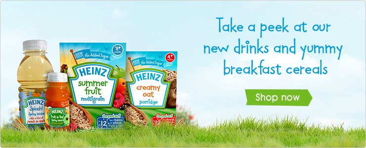 Heinz breakfast cereals and drinks