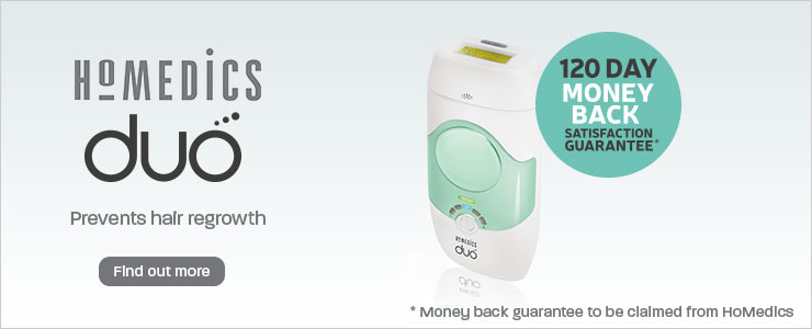 Homedics Duo IPL Hair Removal