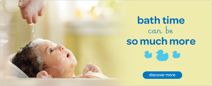 Discover our range of Johnson's baby bath time products