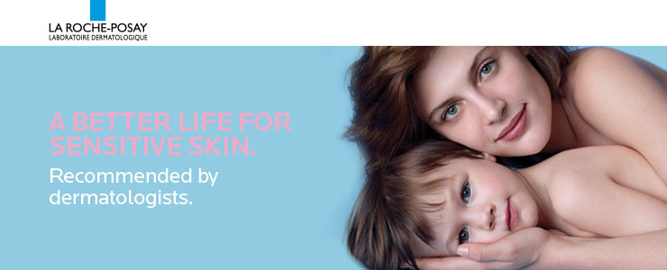 La roche posay for sensitive skin