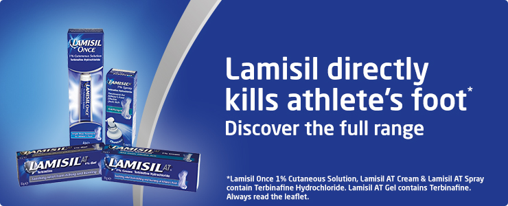 Lamisil directly kills athlete's foot, discover the full range