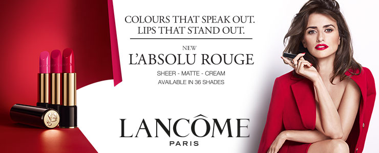 New Lancome L'Absolu Rouge lipstick