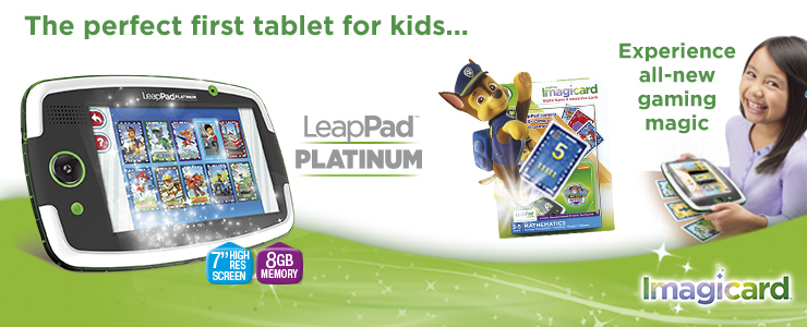 The perfect first tablet for kids-LeapPad platinum