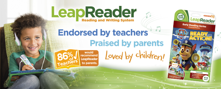 LeapReader endorsed by teachers, praised by parents