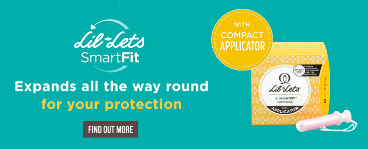 Lil Lets smart fit with compact applicator