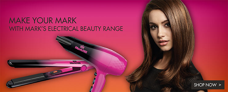 Make your Mark - With Mark's electrical beauty range