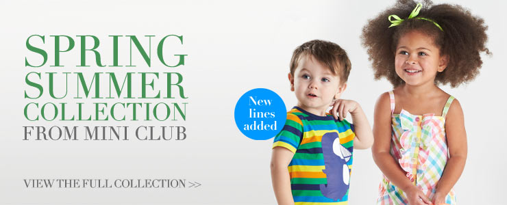 All New Spring Collection From Mini Club