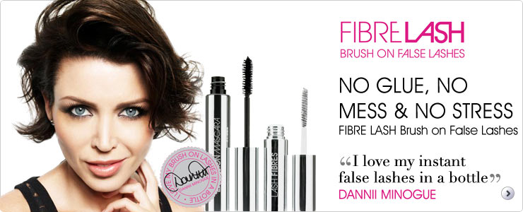 Fibre lash brush on false lashes available now