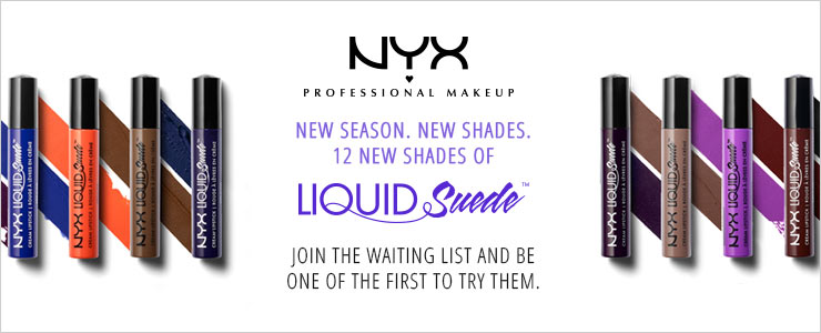Join the NYX Liquid suede waiting list