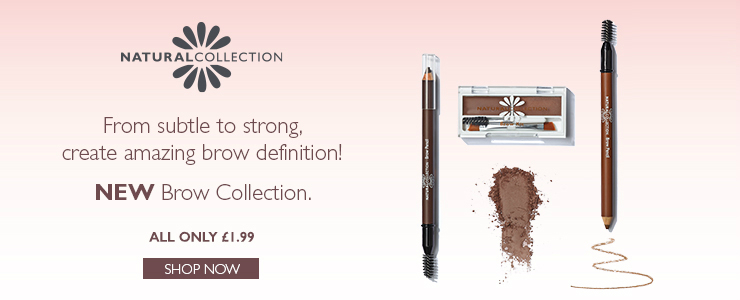 New Natural Collection brow range