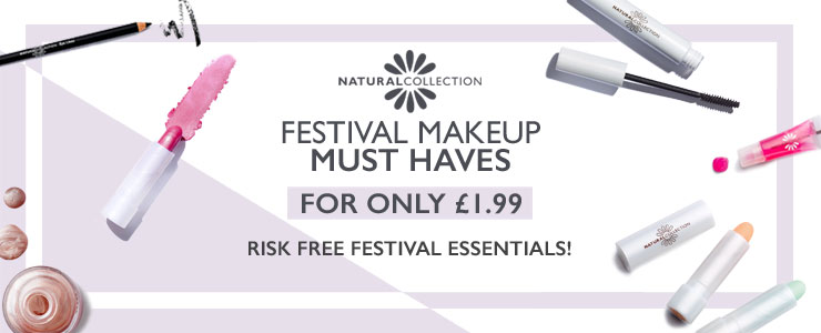 Festival makeup must haves only one pound ninety nineon