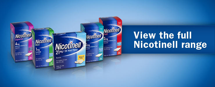 View the full Nicotinell range