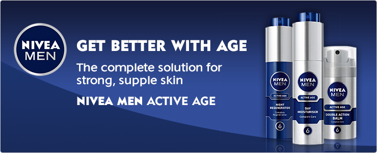 NIVEA MEN - Active Age Get better with age