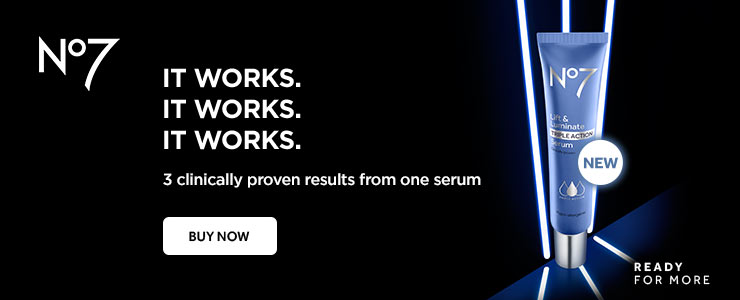 New Number Seven lift and luminate serum - it works