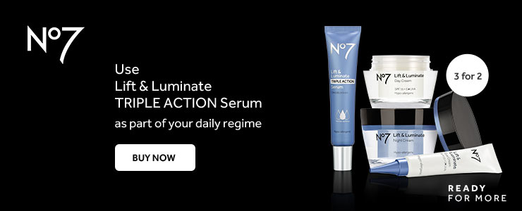 New number seven lift and luminate triple action serum