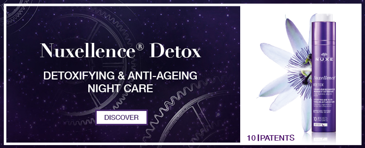 Nuxe Nuxellence Detox. Detoxifying and anit ageing night care