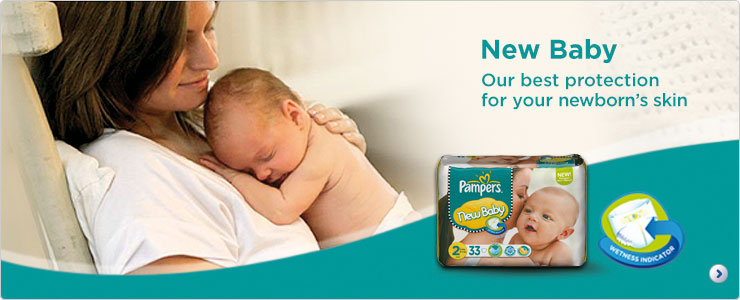 Pampers New Baby our best protection for your newborn's skin