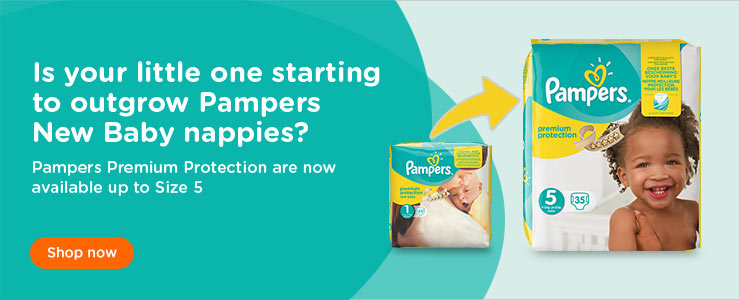 Pampers New baby premium protection nappies