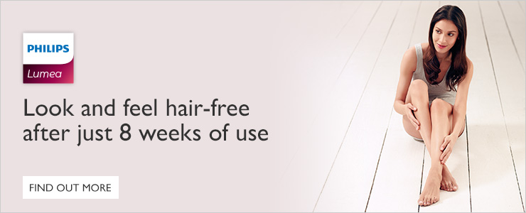 Look and Feel hair free after just 8 weeks