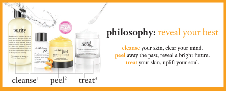 Discover Philosophy Skincare