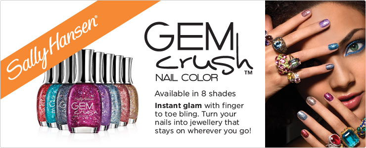 Sally Hansen Gem Crush Nail Colour