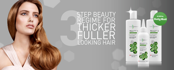 step beauty for thicker fuller hair