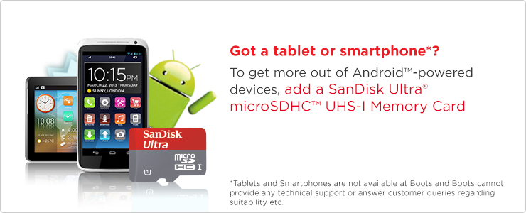 SanDisk Ultra Micro SDHC Memory Card