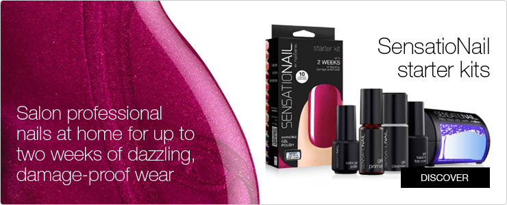 Senstionail starter kits. Salon professional nails at home with up to 2 weeks of damage proof wear