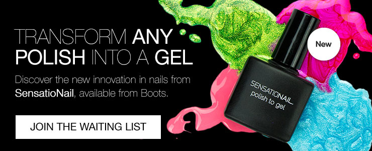 Join the waiting list for the sensationail Polish to Gel