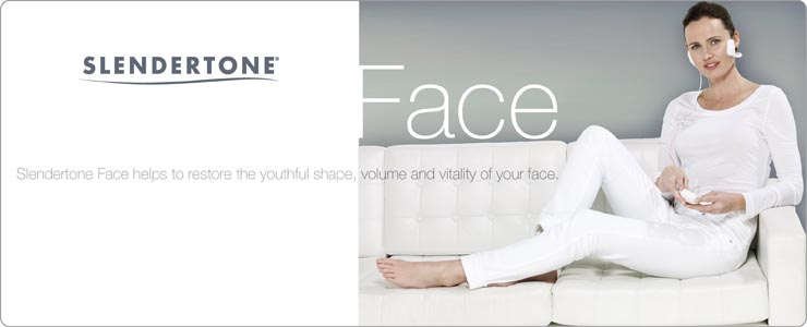 Slendertone Face restores the youthful shape of your face