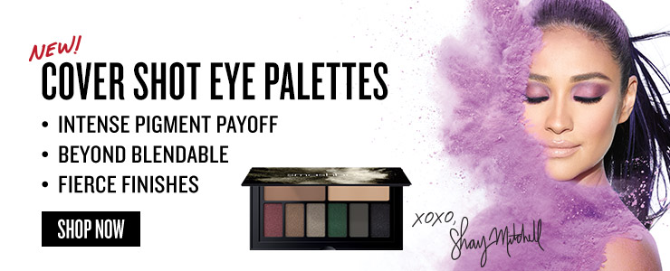 New Smashbox Cover Shot eye palettes