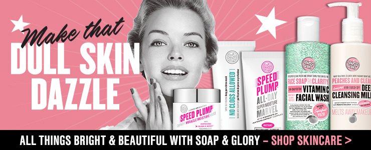 Soap and glory brightening skincare